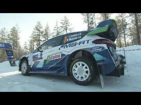 Highlights Clip M-Sport Ford WRT at WRC Arctic Rally Finland 2021