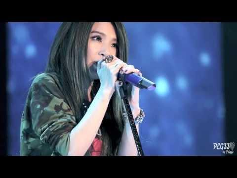 131116 田馥甄 - 渺小 (live ver. + 歌曲介紹) @ 全聯 rock n run演唱會