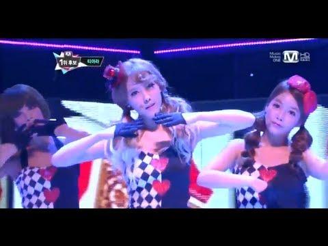 티아라_ Sexylove (Sexylove by T-ara @Mcountdown 2012.09.13)