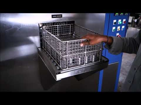 AUTO PARTS CLEANING MACHINE