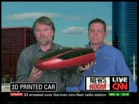 Stratasys 3D Printing Used to Develop Urbee Hybrid Car