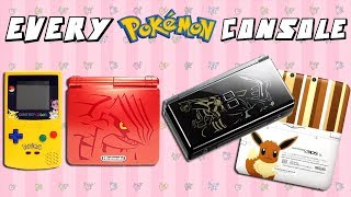 Every Limited Edition Pokemon Console Ever Made
