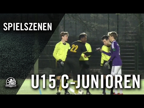 SF Charlottenburg-Wilmersdorf - Tennis Borussia Berlin (U15 C-Junioren, 1. Runde, Pokal der C-Junioren 2016/2017) - Spielszenen | SPREEKICK.TV