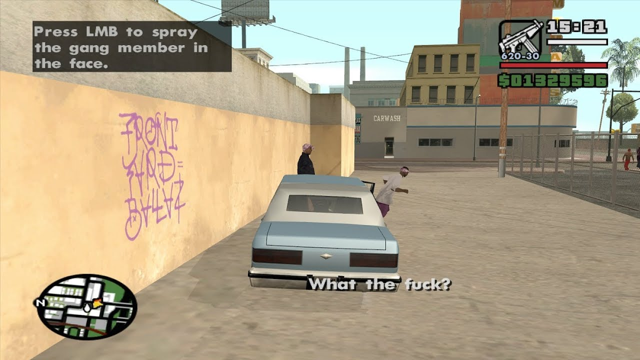 Starter Save-Part 33-The Chain Game 100 Mod-GTA San Andreas PC-complete  walkthrough-achieving ?? ??%