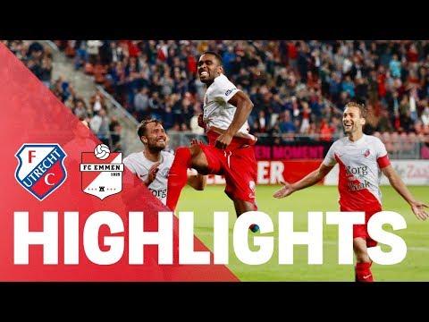 HIGHLIGHTS | FC Utrecht - FC Emmen