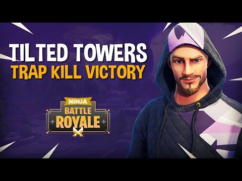 Tilted Towers: Trap Kill Victory!! - Fortnite Battle Royale Gameplay - Ninja & KingRichard