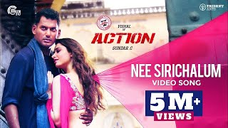 Action Movie: Nee Sirichalum Video Song- Vishal, Tamannaah..