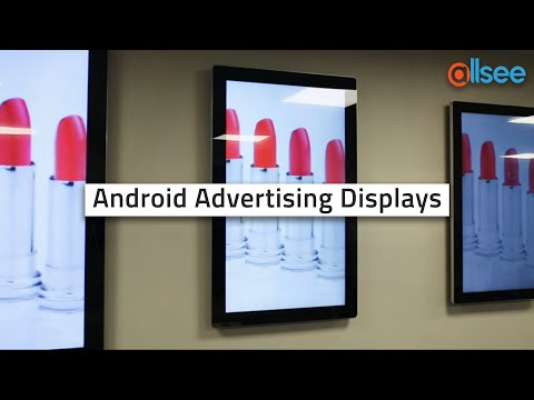Allsee Android Digital Advertising Displays