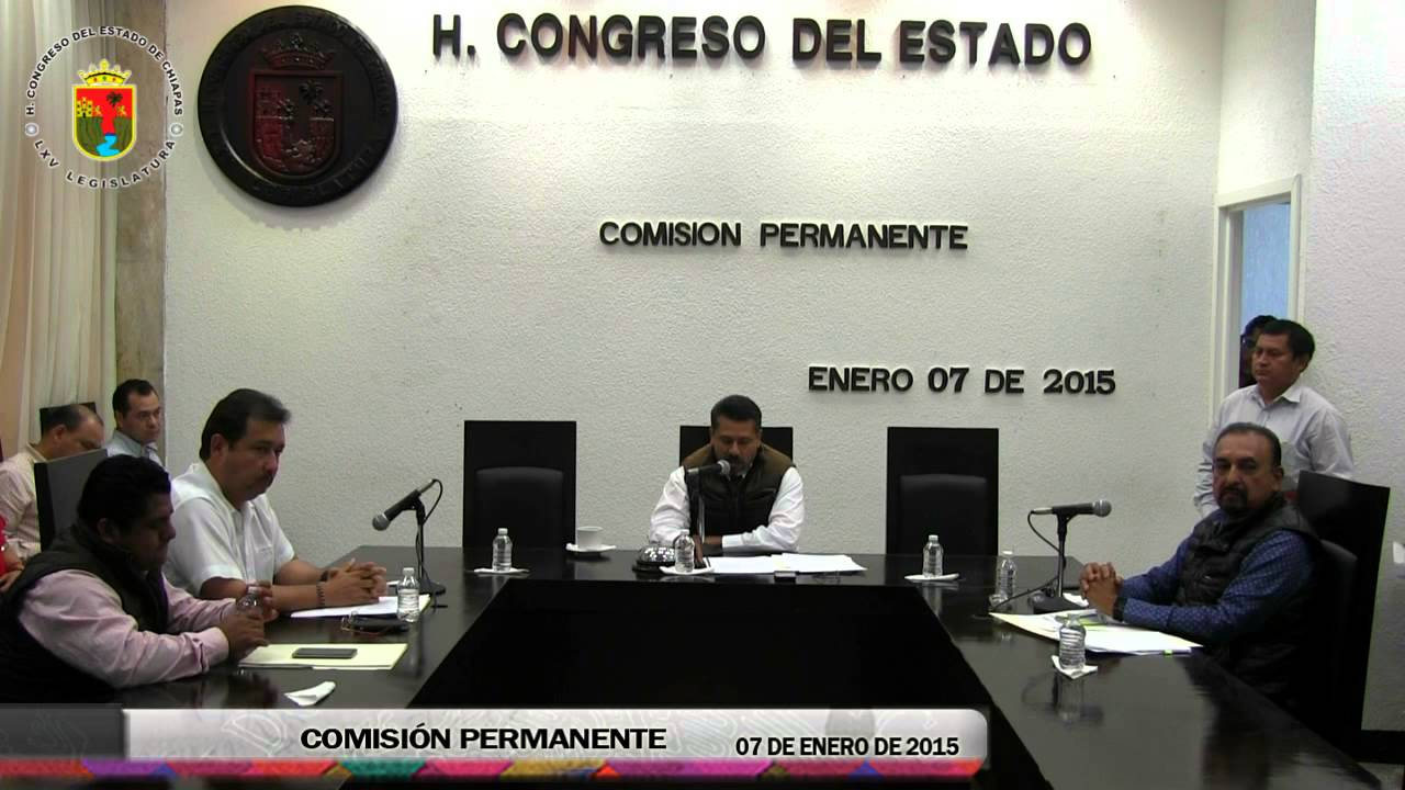 Comisión Permanente 07 de Enero de 2015
