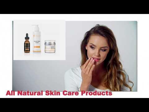 Natural Body and Facial Skin Care: Stretch Mark Cream, Serum, Moisturizer