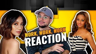 Kyla & Liezel Garcia - Work | Rihanna & Drake | Cover | REACTION