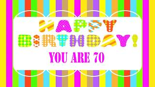 70 Years Old Birthday Song Wishes