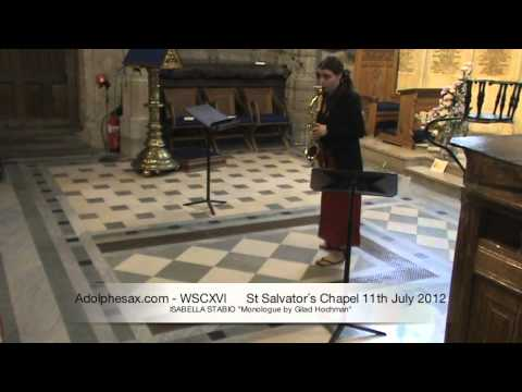 WSCXVI ISABELLA STABIO   Monologue by Gilad Hochman