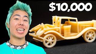 Best Macaroni Art Wins $10,000 Challenge! | ZHC Crafts