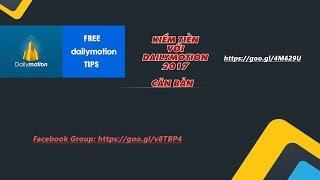 Phần 1 - Tổng quang về Dailymotion: Tạo kênh, xác thực và bật kiếm tiền