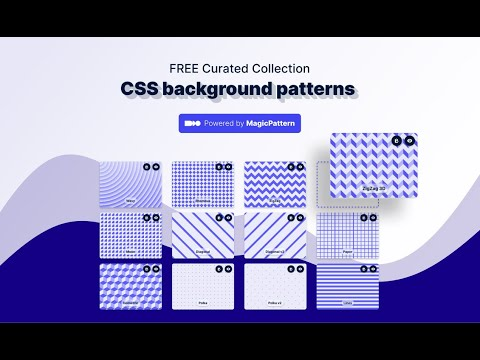 video CSS Background Patterns