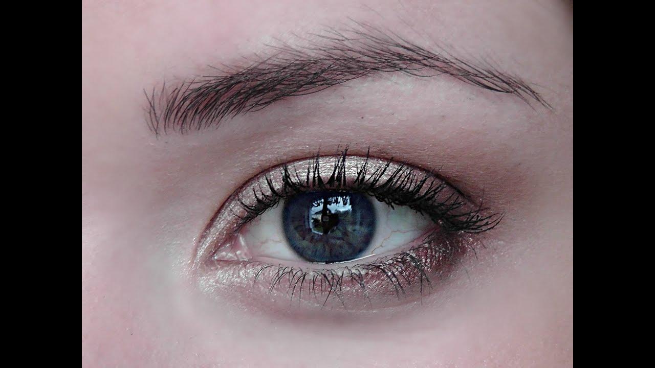 Make-up For Blue Hazel...