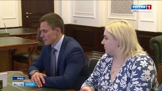 Губернатор Александр Бурков провел встречу с главой Росстандарта Александром Абрамовым