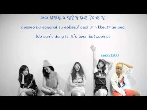 f(x) - Airplane [Hangul/Romanization/English] Color & Picture Coded HD