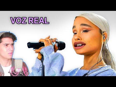 Escuchando la VOZ REAL de Ariana GRANDE sin AutoTune | Vargott