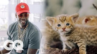 2 Chainz Plays with $165,000 Kittens | Most Expensivest Sh*t | GQ