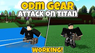 WORKING ODM GEAR *TUTORIAL*   | build a boat for treasure | Roblox