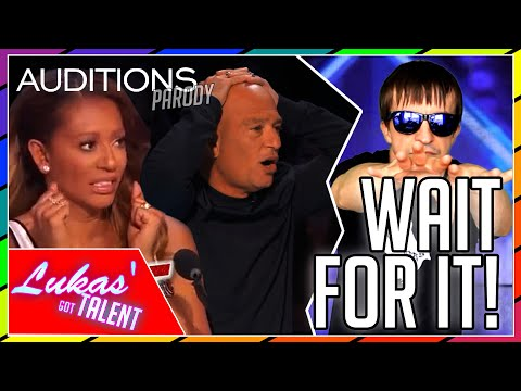 TIME TRAVELLING MAGIC TRICKS! | America's Got Talent/Britain's Got Talent NEVER SEEN BEFORE(parody)