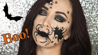 TerryMakeupTutorials - Pavoučí hnízdo - Halloween makeup | TMT - Zdroj: