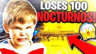 Evil Scammer Loses 100 Nocturnos! (Scammer Gets Scammed) Fortnite Save The World