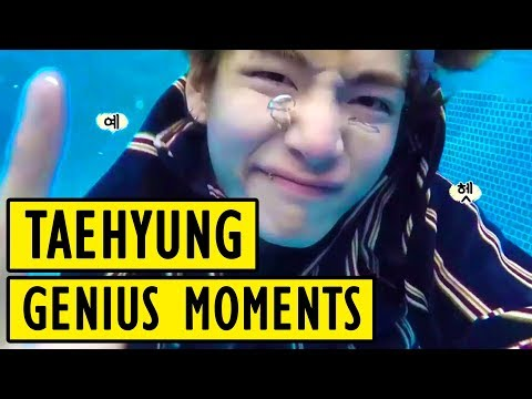 BTS Kim Taehyung Genius Moments