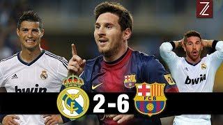 TOP 5 Partidos donde el Barcelona humilló al Real Madrid   Zicrone21