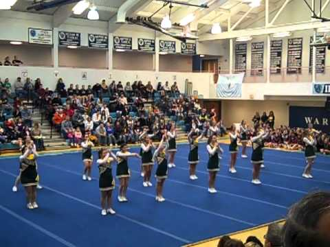 Frontier league cheerleading competition - Lyme