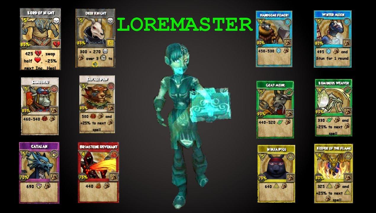 100+ Loremaster Wizard101 Spells – yasminroohi