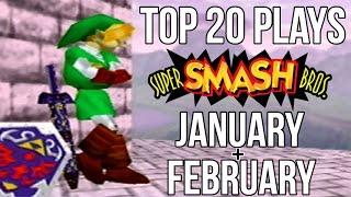 Top 20 Smash 64 Plays of January & February 2017 - Super Smash Bros 64 (SSB64)