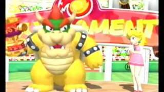 Mario Power Tennis - All Character Trophy Celebrations