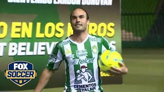 Landon Donovan on joining Club Leon: Playing in Mexico was 'always a dream of mine' | FOX SOCCER