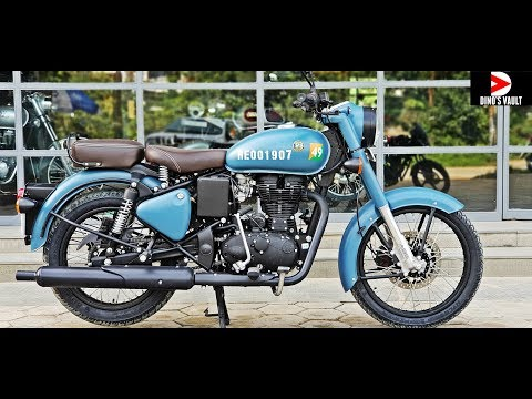 video Royal Enfield Classic 350 Signals Edition