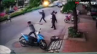 Màn giao chiến kinh hoàng của nhóm giang hồ khét tiếng Thái Lan