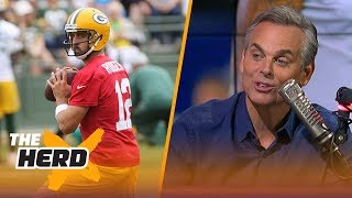 Colin Cowherd on Rodgers and his new leadership style, the Cowboys' imperfections   NFL   THE HERD