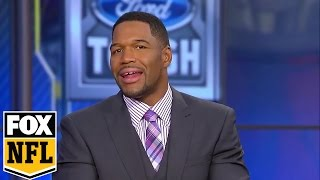 Luke Kuechly was crying after suffering a concussion -Strahan has a message for him   FOX NFL SUNDAY