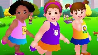 Cabeza, Hombros, Rodillas y Pies - Canción de Ejercicios Para Niños | ChuChu TV
