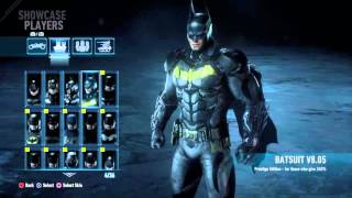 BATMAN™: ARKHAM KNIGHT all skin from season pass