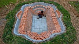 Build Swimming Pool Underground-Part 1