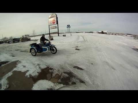 Skiing behind the Ural