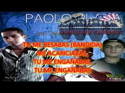 PAOLO PLAZA SE ALEJO DE MI VIDEO CON LETRA(NUEVO 2012)