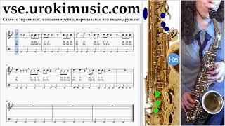 Как играть на саксофоне (тенор) Silentó - Watch Me (Whip/Nae Nae) Табы um-b821