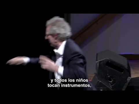 Benjamin Zander 2008 Musica y Pasion. Con los ojos brillantes. 20 min spanish subtitles