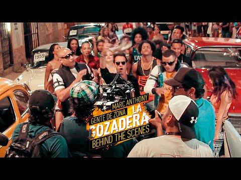 Detrás de las Cámaras del video La Gozadera