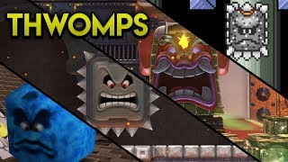 Evolution of Thwomps in the Super Mario Series (1988 - 2017)