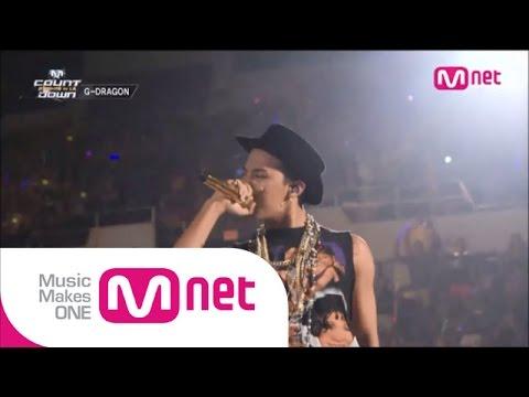 Mnet [엠카운트다운] Ep.389 : 지드래곤(GD) - One of a kind + 삐딱하게(Crooked) + 크레용(Crayon) @MCOUNTDOWN_140814